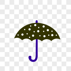 黑色雨伞图片