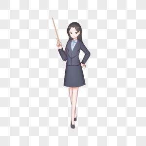 教师节老师卡通插画图片
