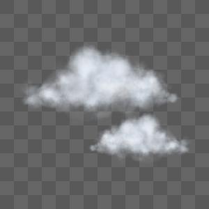 白色云朵图片