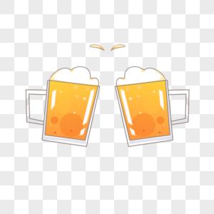 啤酒哈皮干杯图片