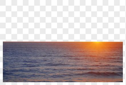 美国西海岸1号公路落日图片