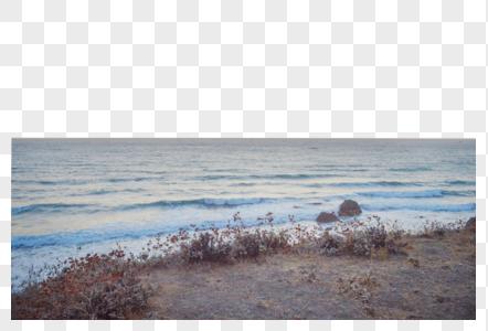 美国西海岸大海图片