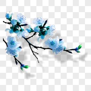 梅花元素图片