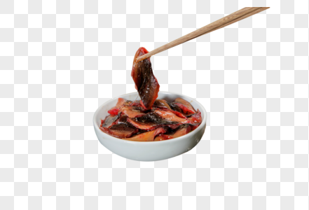 火锅食材鳝鱼片图片
