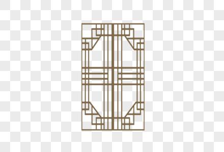 中式门框纹样图片