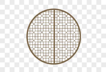中式古典门框纹样图片