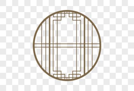 古典中式门框纹样图片