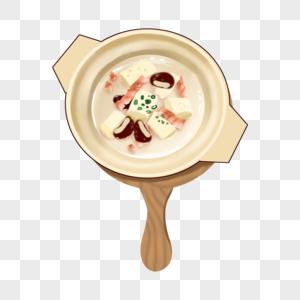 豆腐炖香菇肉脯图片