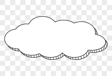 白云对话框图片