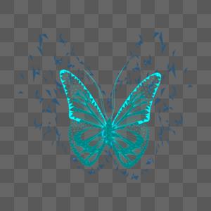 科技风蝴蝶图片