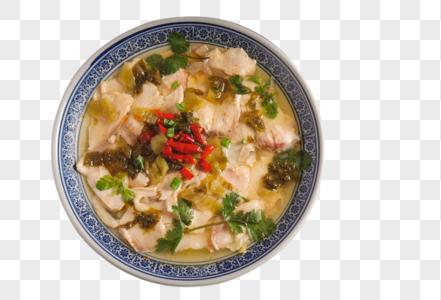 酸菜鱼片图片