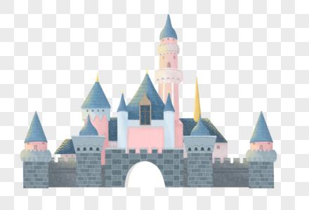 卡通城堡建筑图片