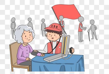 文明实践志愿服务图片