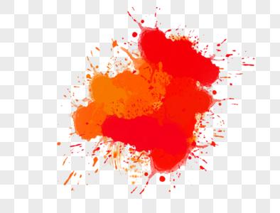 红色油漆素材图片
