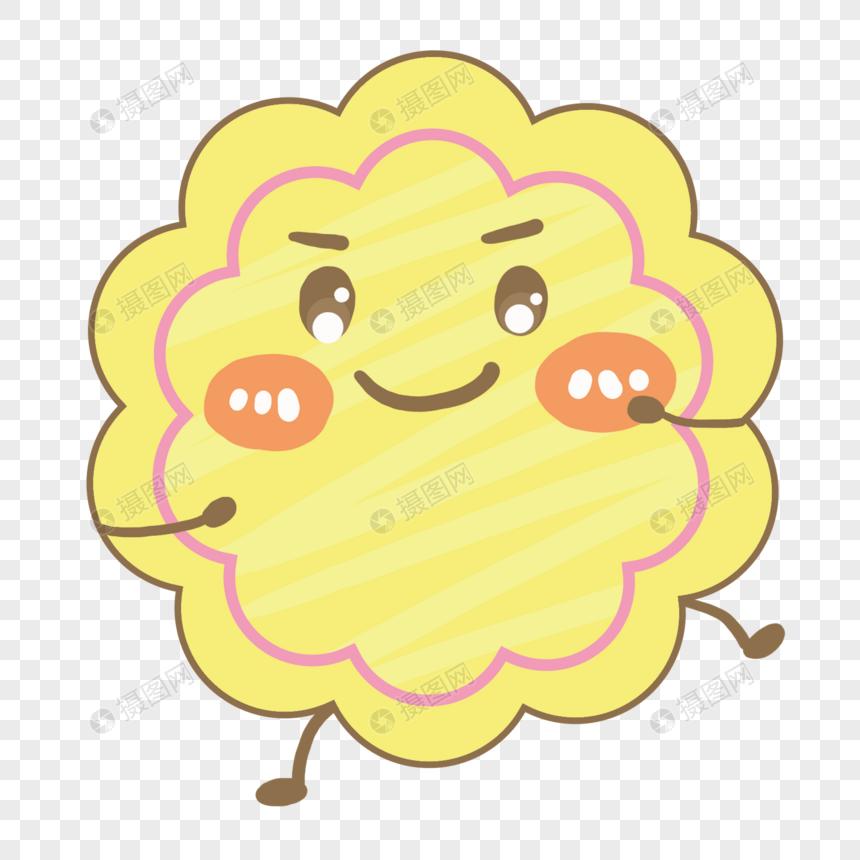 的字体月饼君表情格式psd元素_设计魔幻设计素材图片