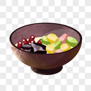 夏季甜品芋圆图片