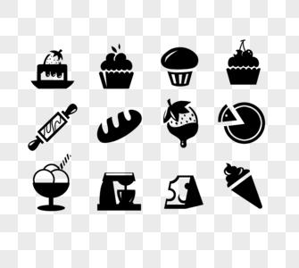 布丁面包蛋糕擀面杖巧克力草莓雪糕冰淇淋除湿机芝士图片