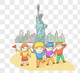 暑假出国游之美国图片