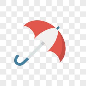 雨伞图标免抠矢量插画素材图片
