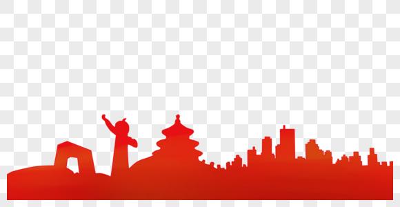 北京地标背景图片