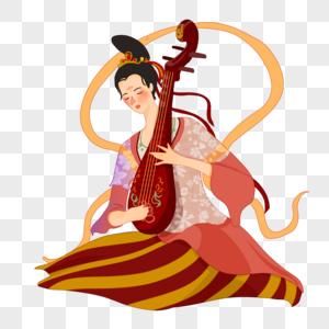 琵琶乐器图片