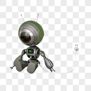 充电机器人图片