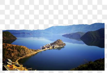 云南丽江泸沽湖图片