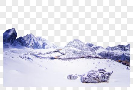 云南丽江玉龙雪山大索道图片