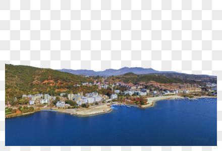 云南澄江抚仙湖孤岛图片
