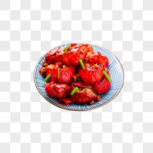 网红虾球图片