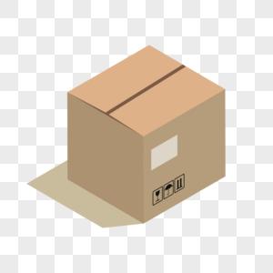 手绘牛皮纸箱包装图片