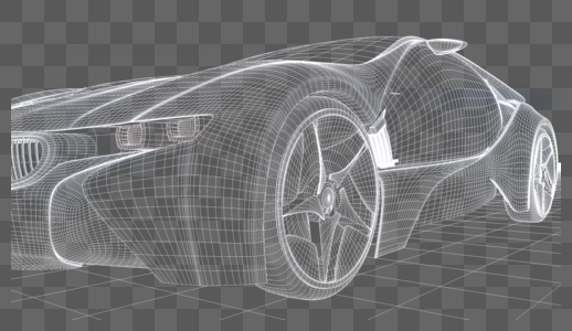 科技工业汽车场景图片