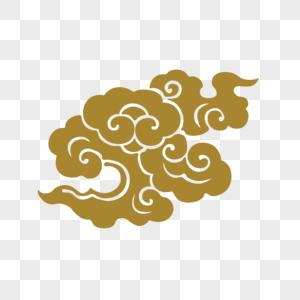 金色祥云图片