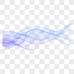 丝状波浪动感线条图片