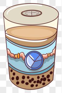 免费小电影下载  色_奶茶填色元素素材下载-正版素材400334226-摄图网