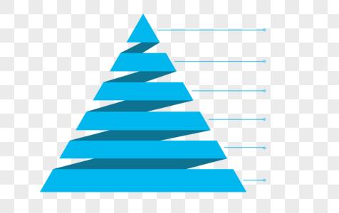 创意金字塔PPT元素图片