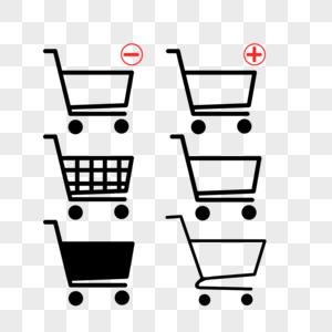 购物车图标一组图片
