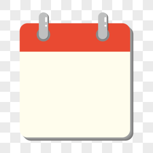 矢量空白百搭图标风格日历边框图片