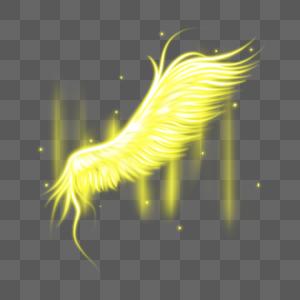 梦幻光感翅膀图片