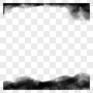 水墨边框图片
