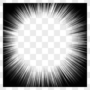 集中线图片
