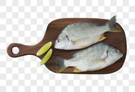 砧板上的鱼图片