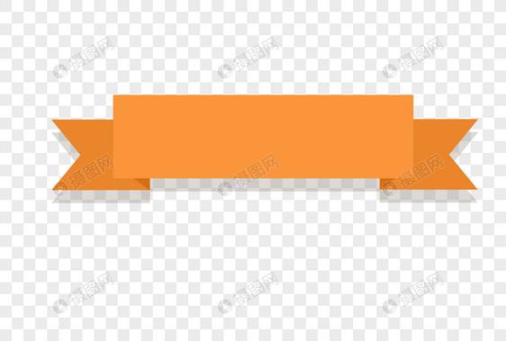 橙色对话框背景边框图片