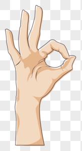 OK手势图片