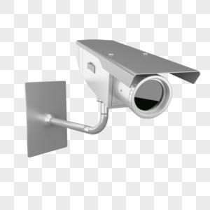 金属监控摄像头图片