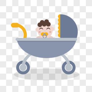 婴儿车图片
