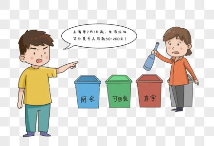 垃圾分类之罚款图片