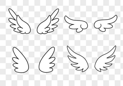 卡通翅膀图片