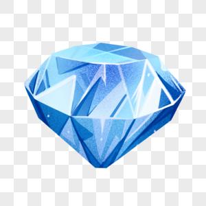 浅蓝色钻石图片