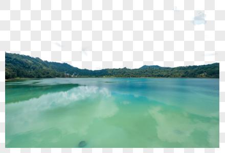 印尼美娜多湖边风光图片
